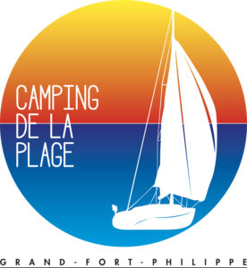 Logo Camping de la Plage Grand-Fort Philippe